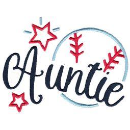 Baseball Auntie