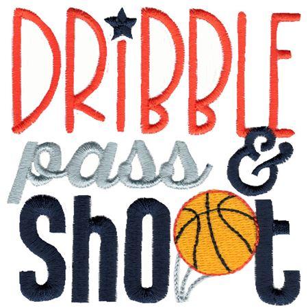 Dribble Pass Shoot