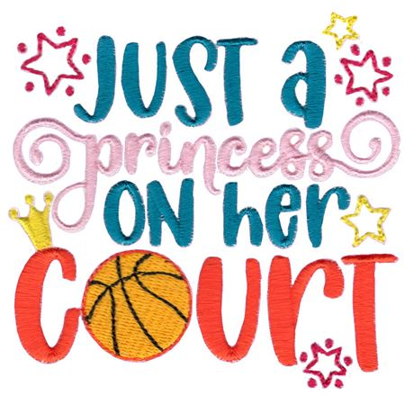 Just A Princess On Her Court
