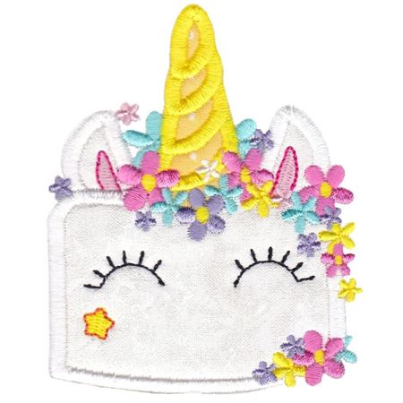 Unicorn Cake Applique