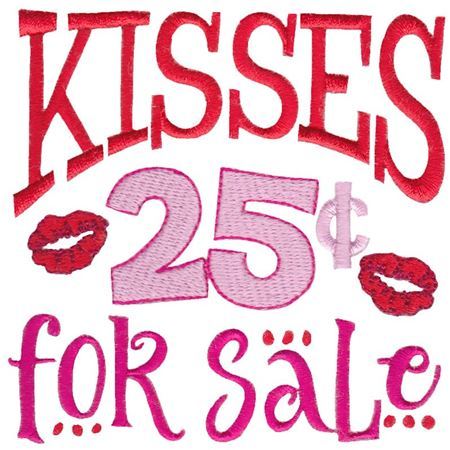 Kisses 25c For Sale