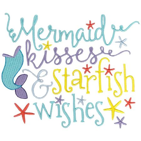Mermaid Kisses and Starfish Wishes