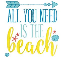 All You Need Is The Beach