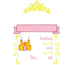 Princess Birth Announcement US am