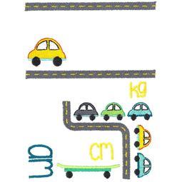 Car Birth Announcement Metric am