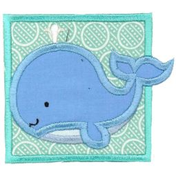 Whale Applique