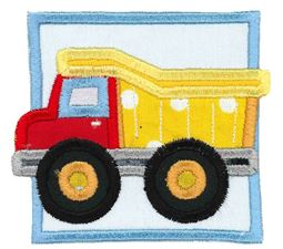Dump Truck Applique