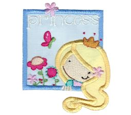Princess Girl Applique