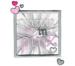 Pretty In Pink Applique