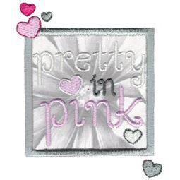 Pretty In Pink Applique