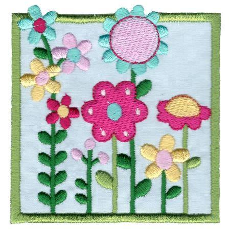 Flower Garden Applique