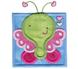 Cute Butterfly Applique