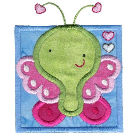 Cute Butterfly Applique