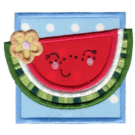 Cute Watermelon Applique
