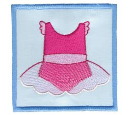 Ballet Tutu Applique