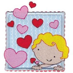 Cupid Applique