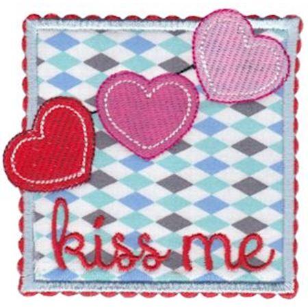 Kiss Me Applique