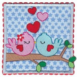 Love Birds Applique