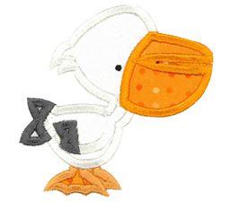 Pelican Applique