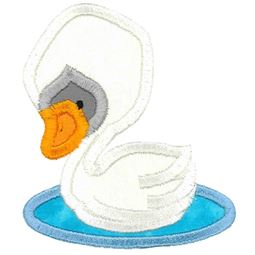Swan Applique