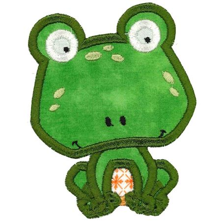 Frog Applique