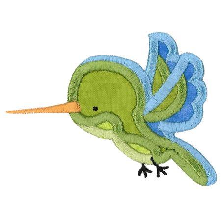 Hummingbird Applique