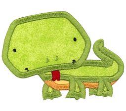 Iguana Applique