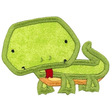 Iguana Applique