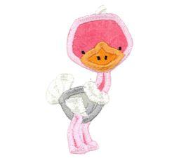 Ostrich Applique