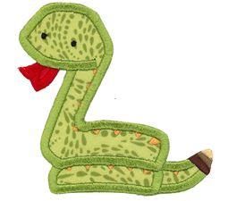 Snake Applique