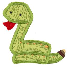 Snake Applique