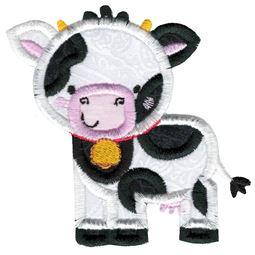 Applique Cow