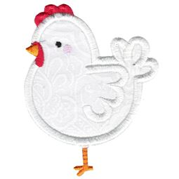 Applique Hen
