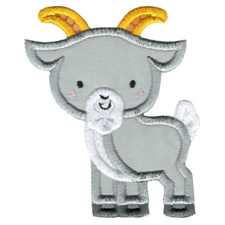 Applique Goat