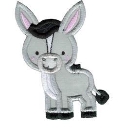 Applique Donkey