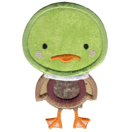 Applique Duck