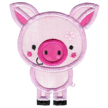 Applique Pig