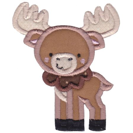 Boxy Buck Applique