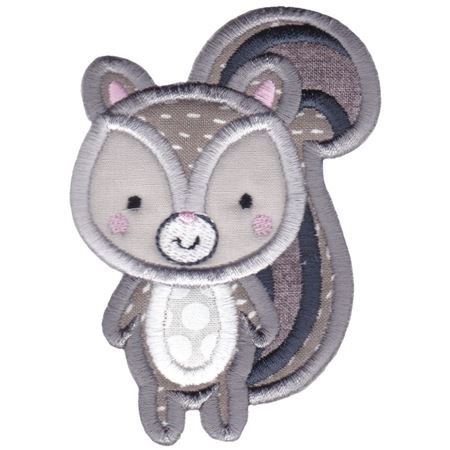 Boxy Squirrel Applique