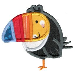 Applique Toucan
