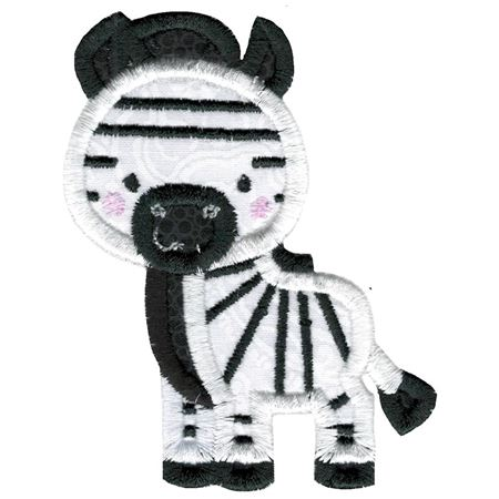 Applique Zebra