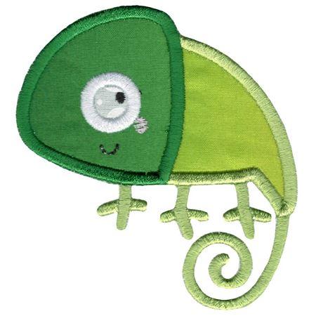 Applique Chameleon