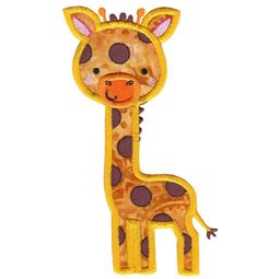 Applique Giraffe