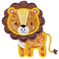 Boxy Jungle Animals Applique