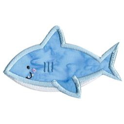 Boxy Shark Applique