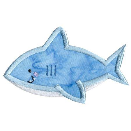 Boxy Shark Applique