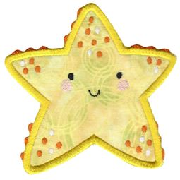 Boxy Starfish Applique