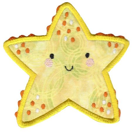 Boxy Starfish Applique