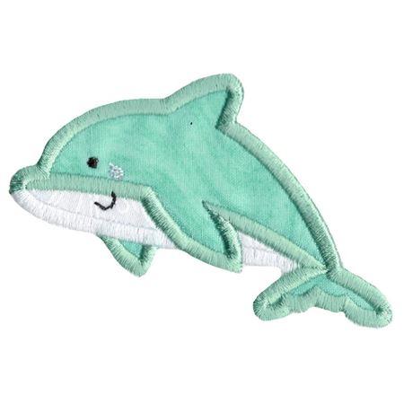 Boxy Dolphin Applique
