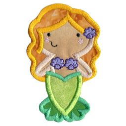 Boxy Mermaid Applique